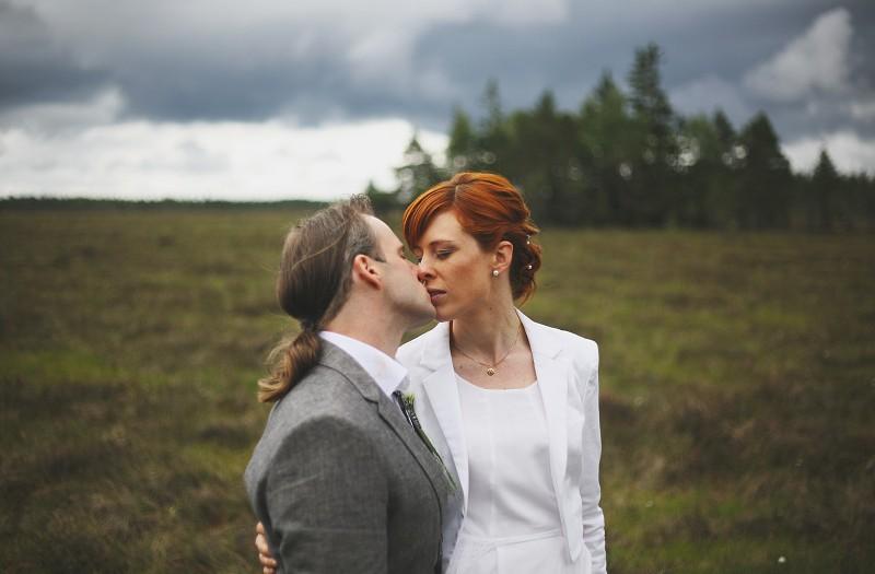 Bröllop - Komosse utanför Ulricehamn