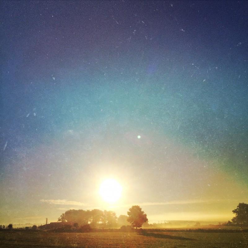 gällstad, soluppgång