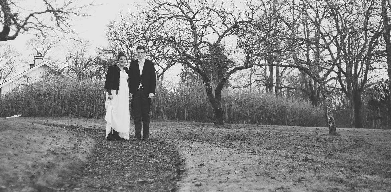 Vinterbröllop - bröllopsfotograf i Ulricehamn